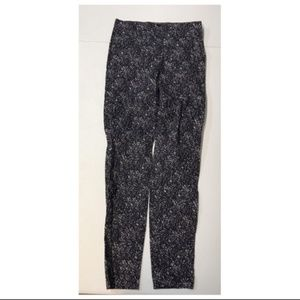 H&M Skinny Pants Navy Blue 6 Small Women's Graphic